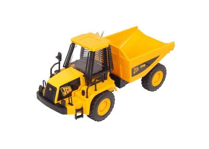 Машины JCB Cтроительная техника 1:32 Самосвал игрушечные машинки на пульте управления по грязи купить