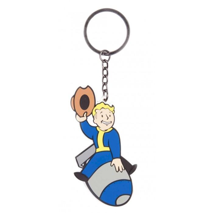 Игровые фигурки Bioworld Брелок Fallout 4 Bomber Skill