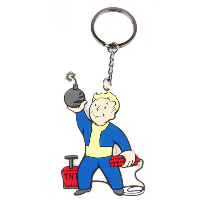 Игровые фигурки Bioworld Брелок Fallout 4 Explosives Skill носки stance anthem kid cudi brains black l