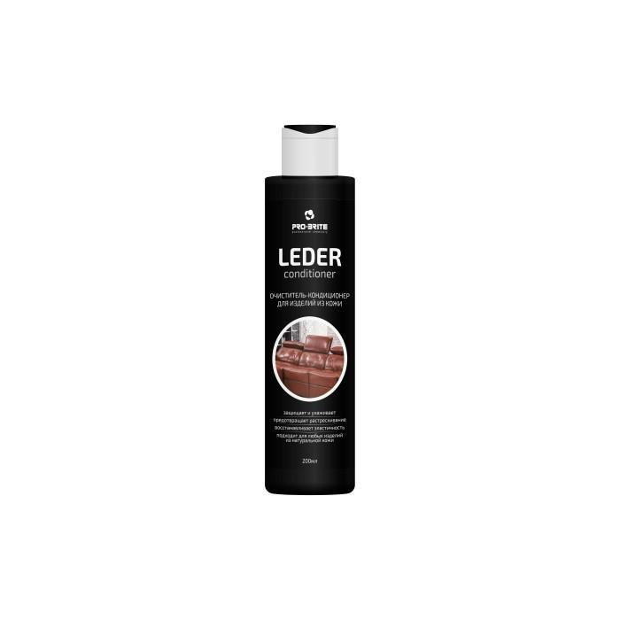 Бытовая химия Pro-Brite Leder Очиститель кондиционер для изделий из кожи 200 мл