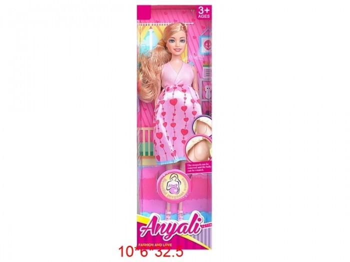 Фото - Куклы и одежда для кукол Игротрейд Кукла беременная куклы и одежда для кукол игротрейд пупсик спящий