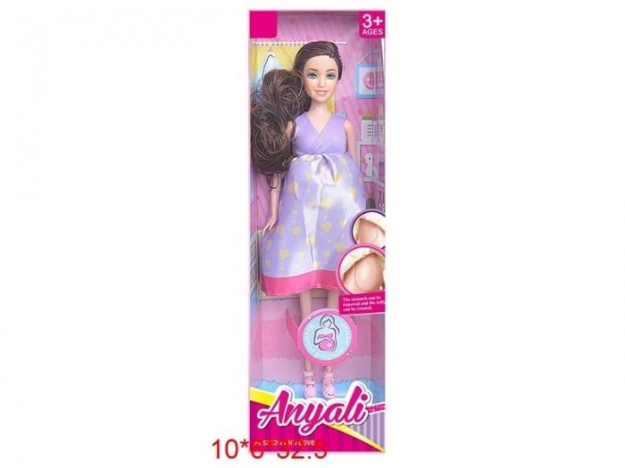 Фото - Куклы и одежда для кукол Игротрейд Кукла беременная ZY1077591 куклы и одежда для кукол игротрейд пупсик спящий