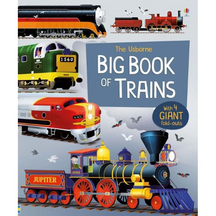 Купить Энциклопедии, Usborne Big Book of Trains