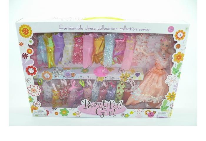 Куклы и одежда для кукол Игротрейд Кукла с набором одежды 1220334