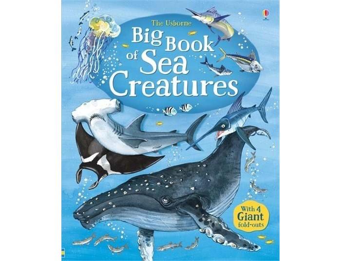 Энциклопедии, Usborne Big Book of Sea Creatures  - купить со скидкой