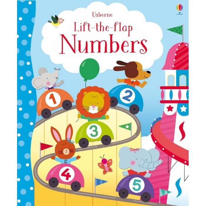 Обучающие книги Usborne Lift-the-Flap Numbers lift the flap numbers