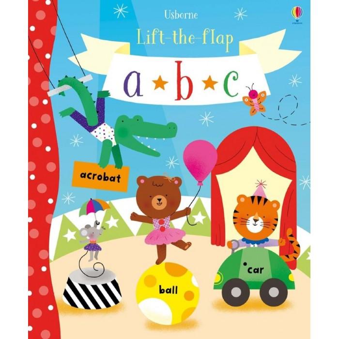 Обучающие книги Usborne Lift-the-Flap ABC lift the flap numbers