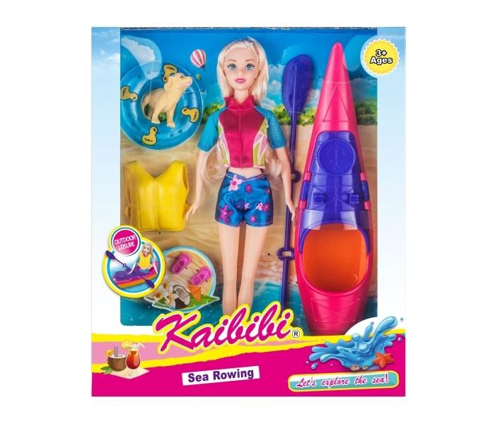 Игротрейд Кукла с аксессуарами для плавания на байдарке