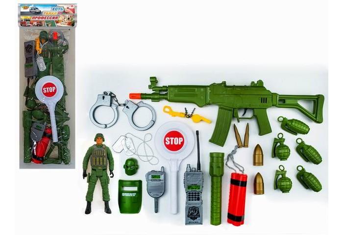 Игровые наборы Yako Игровой набор Военный 21 предмет M9212