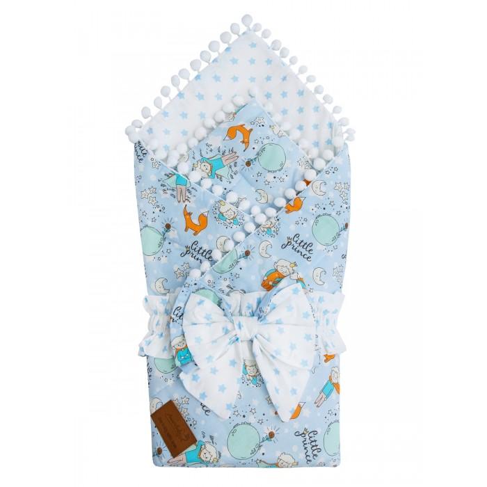 Картинка для Конверты на выписку AmaroBaby Одеяло на выписку Bon Bon Маленький принц