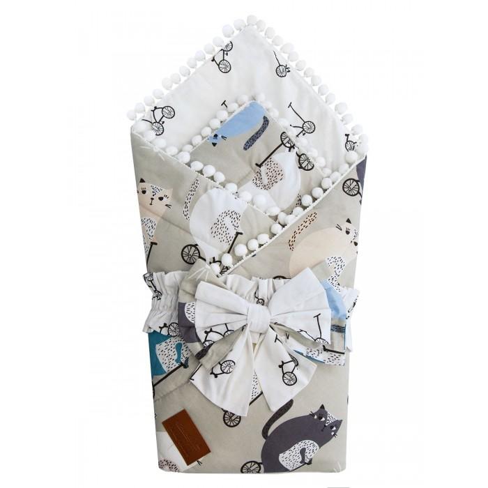 Фото - Конверты на выписку AmaroBaby Одеяло на выписку Bon Bon Велосипедисты конверты на выписку amarobaby одеяло на выписку bon bon индейцы