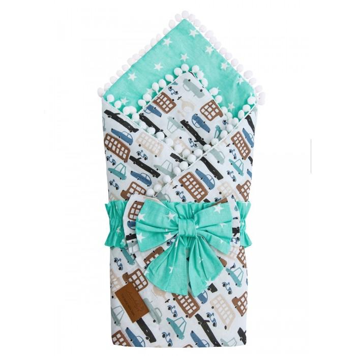 Фото - Конверты на выписку AmaroBaby Одеяло на выписку Bon Bon Трасса конверты на выписку amarobaby одеяло на выписку bon bon индейцы