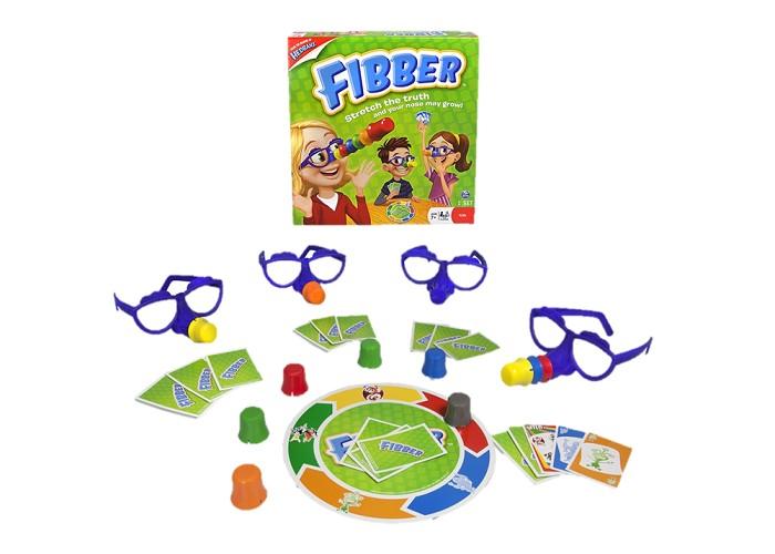 Игры для школьников Spin Master Настольная игра Fibber, Игры для школьников - артикул:98577