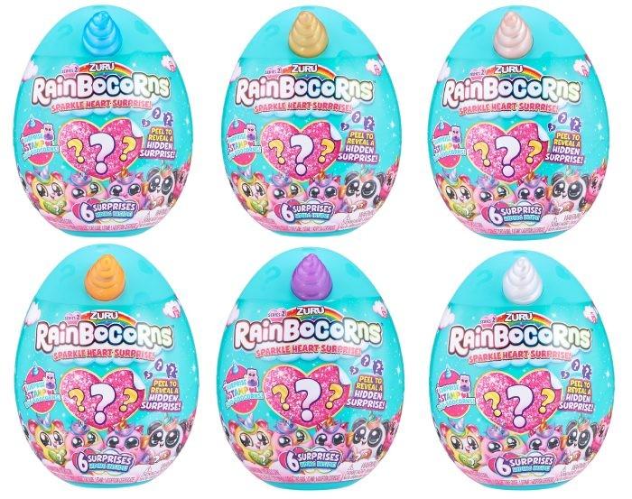 Картинка для Мягкие игрушки Zuru Плюш-сюрприз RainBocoRns мини в яйце Т18601