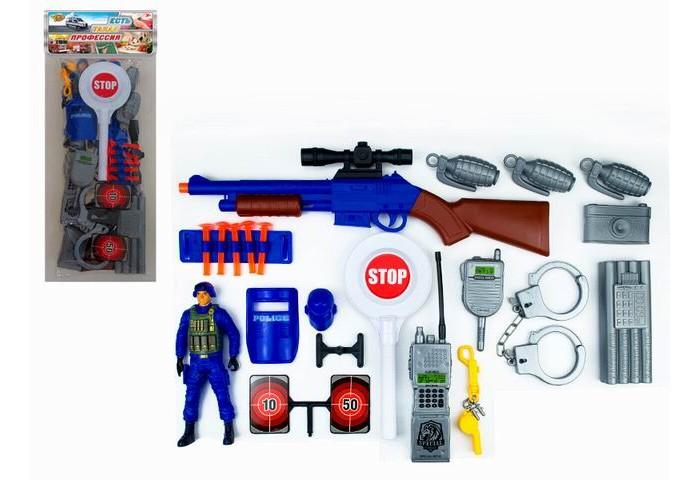 Игровые наборы Yako Игровой набор Полиция 21 предмет