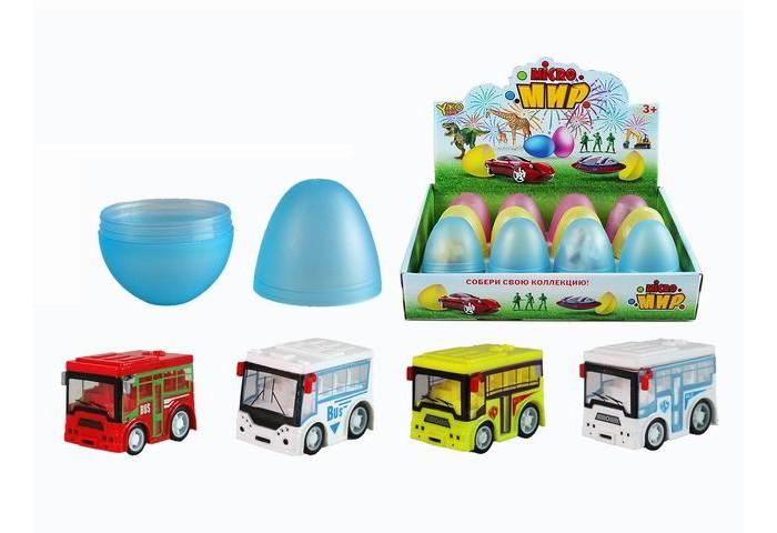 Машины, Yako Набор Машинка Автобус в яйце M0274  - купить со скидкой