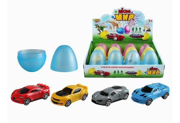 Купить Машины, Yako Набор Машинка в яйце M0282