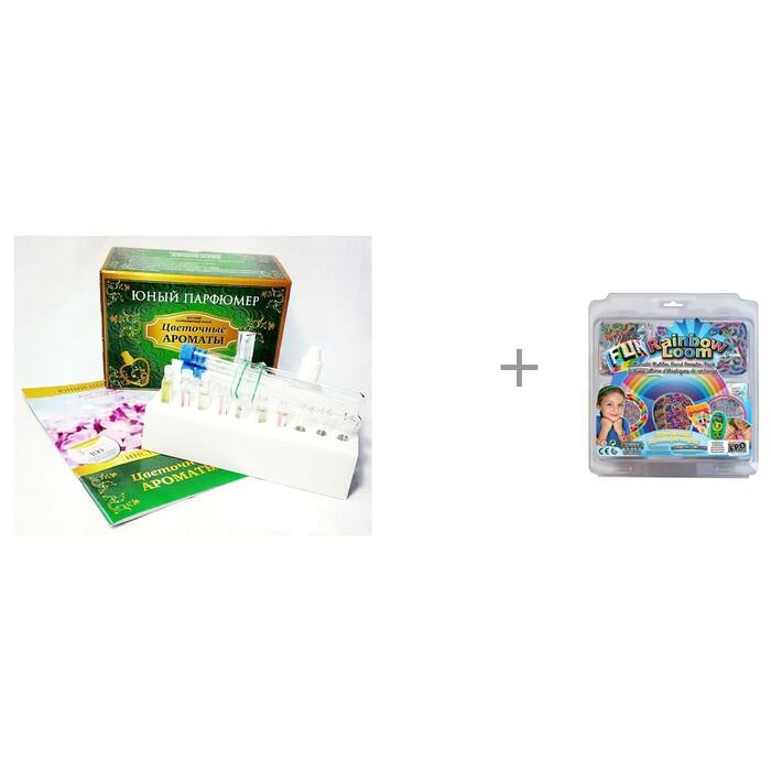 Каррас Набор Юный Парфюмер. Цветочные ароматы и контейнеры для резиночек Бустер Кит Rainbow Loom