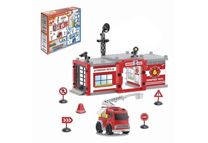 Купить Машины, Yako Набор Паркинг Пожарная часть