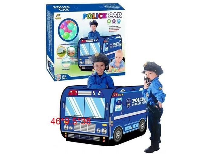 Палатки-домики Игротрейд Игровой домик-палатка Полицейская машина