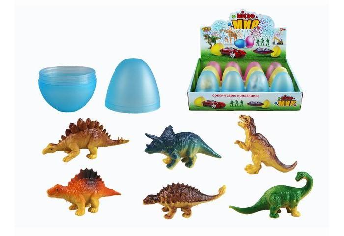 Игровые фигурки Yako Игровой набор Животные в яйце 12 шт. M0289-1
