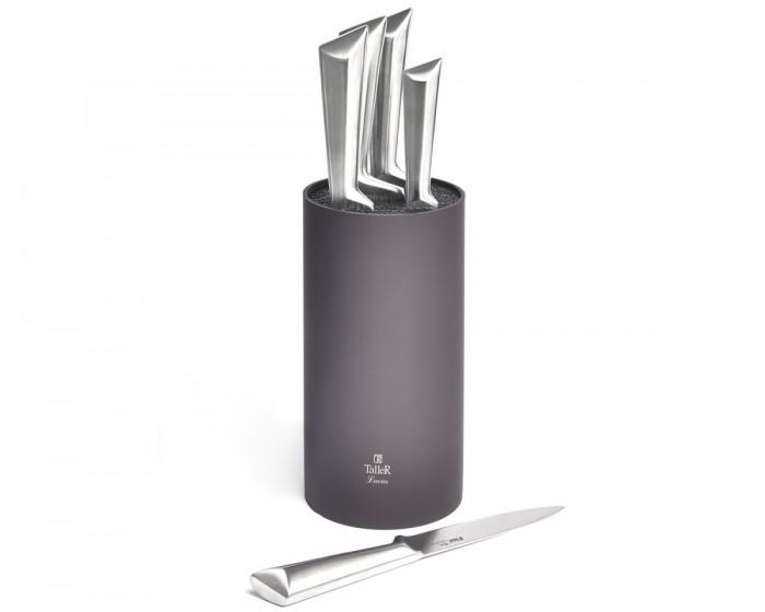 Посуда и инвентарь Taller Набор ножей (6 предметов) TR-22079 набор ножей 6 предметов taller tr 2077