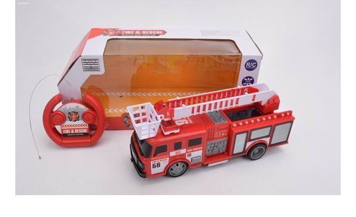 Фото - Радиоуправляемые игрушки Игротрейд Машинка радиоуправляемая Пожарная радиоуправляемые игрушки игротрейд машинка радиоуправляемая пожарная