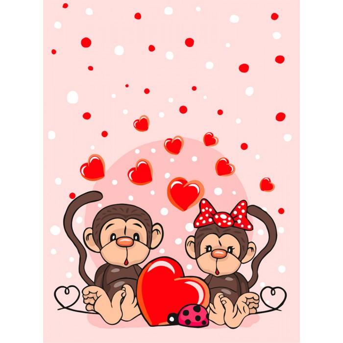 Фото - Картины по номерам Фрея Набор для раскрашивания по номерам Это Любовь... 30х40 см картины по номерам фрея набор для раскрашивания по номерам эльза и нокк 20х30 см