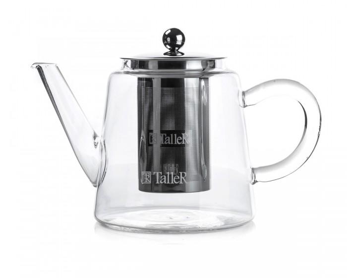 Фото - Посуда и инвентарь Taller Чайник заварочный 1000 мл TR-31375 фарфоровый заварочный чайник паркур 1000 мл