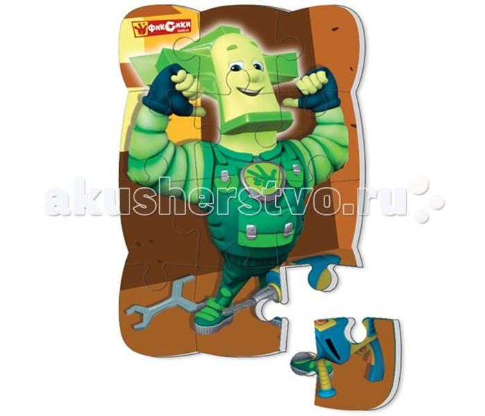 Пазлы Vladi toys Пазлы на магните Фиксики Папус 12 деталей фиксики мозаика самоклеящаяся по номерам папус 02281