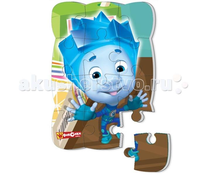 Пазлы Vladi toys Пазлы на магните Фиксики Нолик 12 деталей пазлы magic pazle объемный 3d пазл эйфелева башня 78x38x35 см