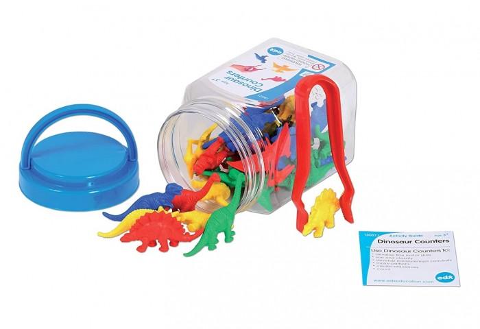 Купить Раннее развитие, EDX Education Счетный материал Динозавры