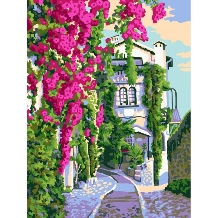Lori Раскраска по номерам Итальянский дворик — купить в ...