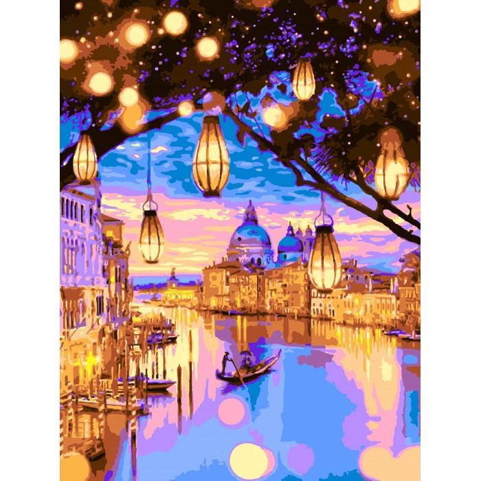 Lori Раскраска по номерам Огни Венеции — купить в Санкт ...