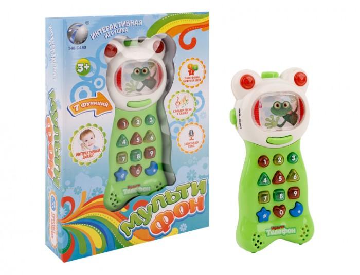 Электронные игрушки Игротрейд Детский телефон интерактивный