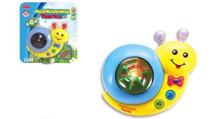 электронные игрушки Электронные игрушки Игротрейд Улитка музыкальная