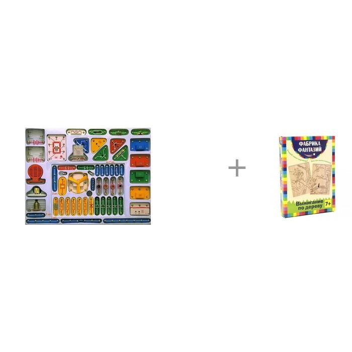 Картинка для Знаток Конструктор электронный Для школы и дома и комплект для выжигания Ниндзя Фабрика фантазий