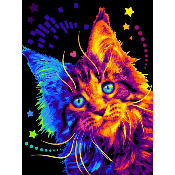Lori Раскраска по номерам Разноцветный мейкун — купить в ...