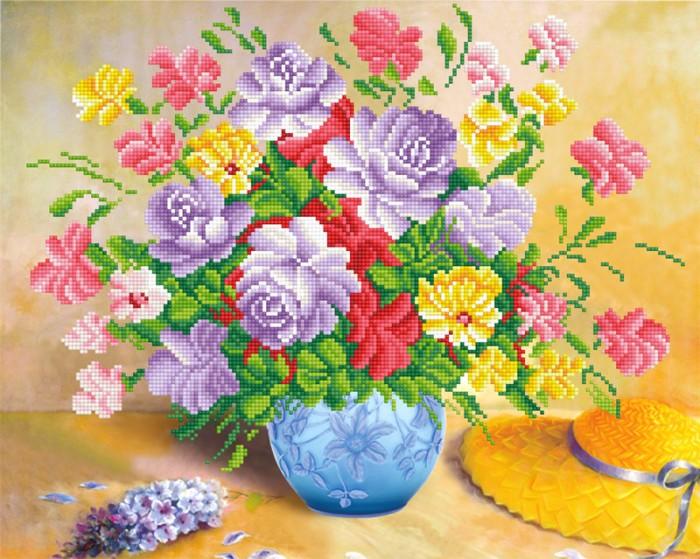 Фрея Кристальная мозаика Садовые цветы 42х52 см