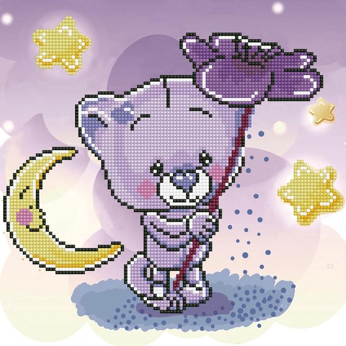 Фрея Кристальная мозаика Волшебный цветок 30х30 см
