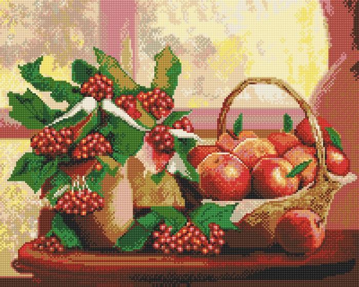 Фрея Кристальная мозаика Калина красная 40х50 см