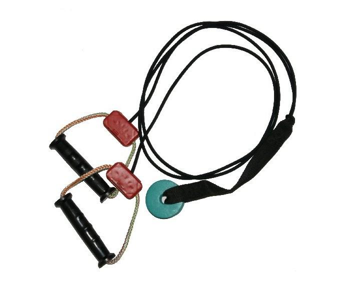 Спортивный инвентарь MPSport Эспандер для реабилитационных упражнений с креплением в дверном проеме 1 резинка