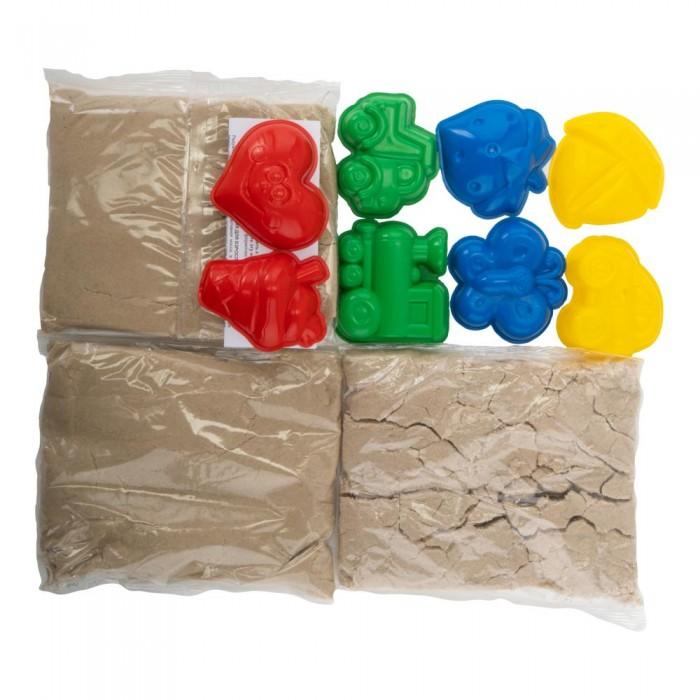 Тесто для лепки Lori Набор для творчества Радужный песок в сундучке кинетический песок lori набор для лепки радужный песок 6 цветов