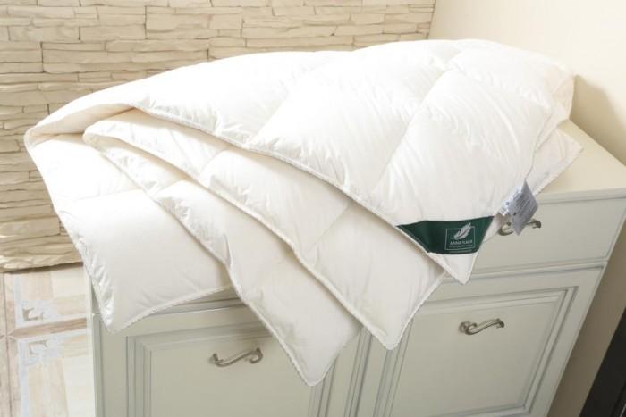 Купить Одеяла, Одеяло Anna Flaum пуховое Flaum Sahne Kollektion кассетное всесезонное 200х150 см
