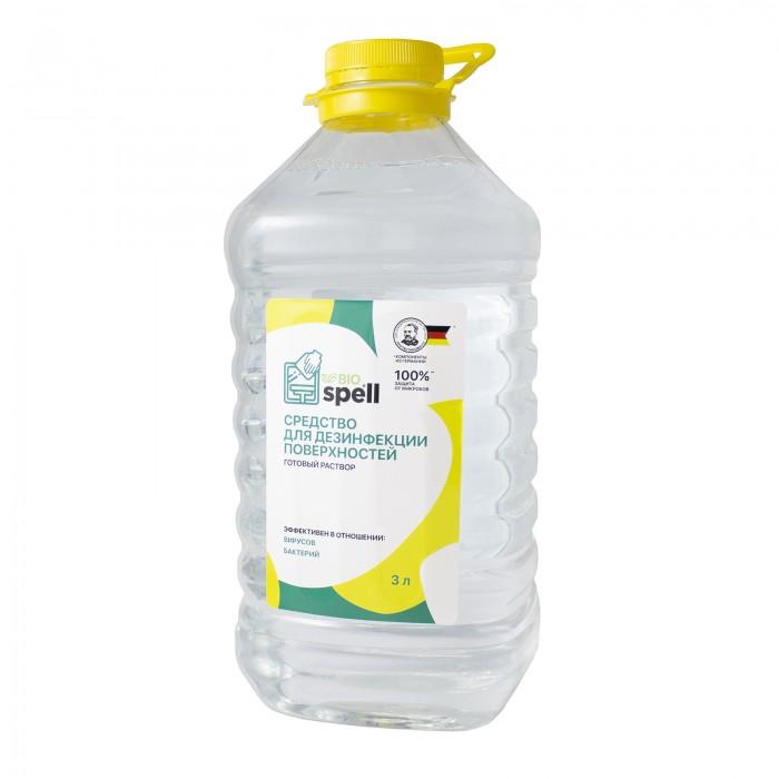 Бытовая химия Spell Optimax Средство для дезинфекции поверхностей 3 л