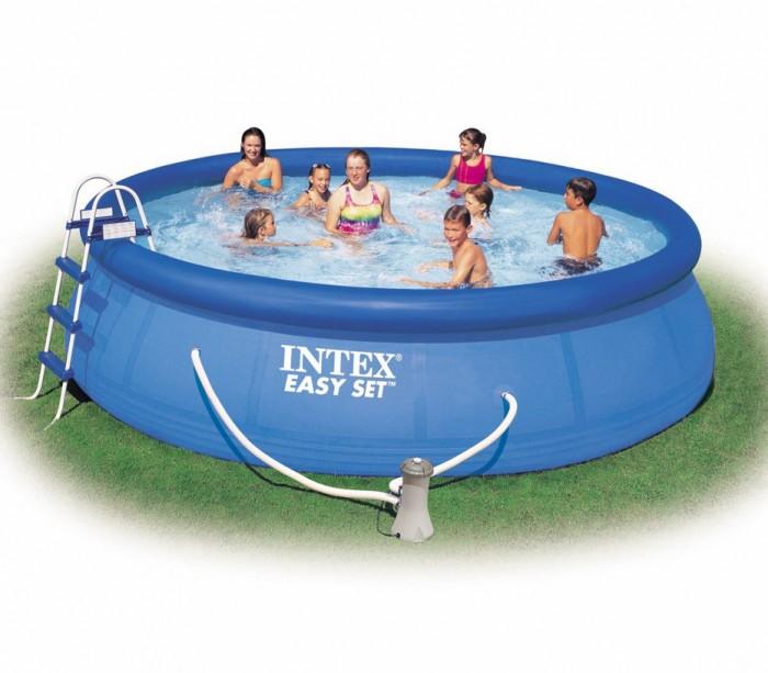 Бассейн Intex Easy Set 549х107 см с фильтром
