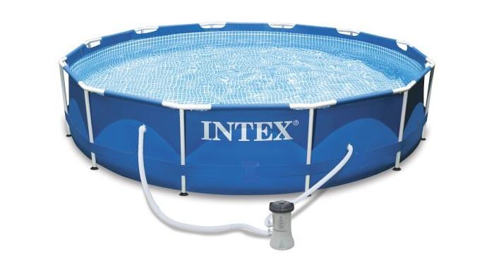 Бассейн Intex каркасный 366х76 см с фильтром