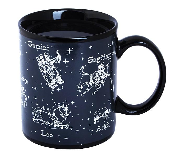Посуда Эврика подарки и удивительные вещи Кружка хамелеон Знаки Зодиака