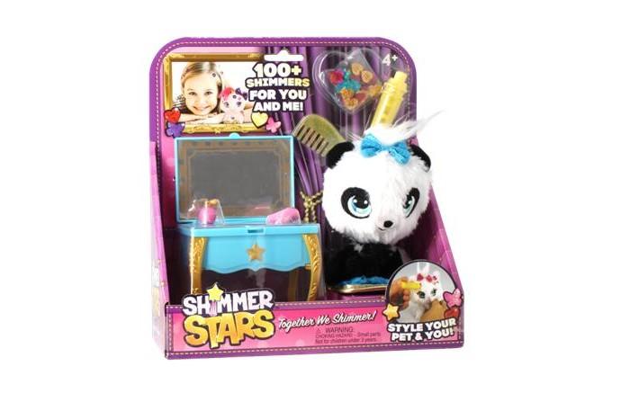 Игровые наборы Shimmer Stars Набор с пандой Туалетный столик