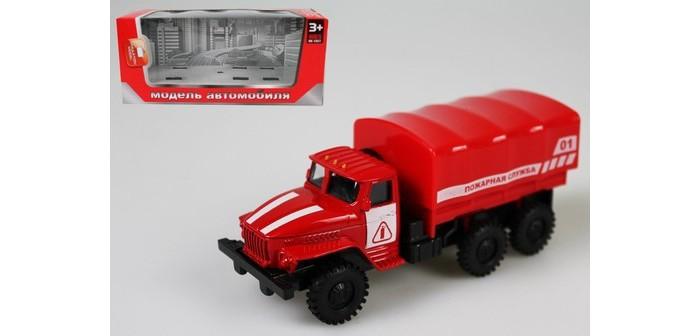 Машины Игротрейд Машинка металлическая инерционная Пожарная служба